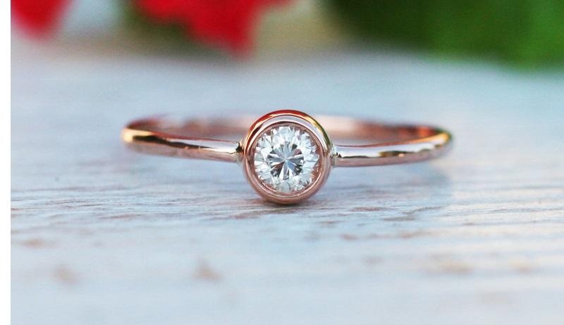 购买1克拉钻石戒指的终极指南